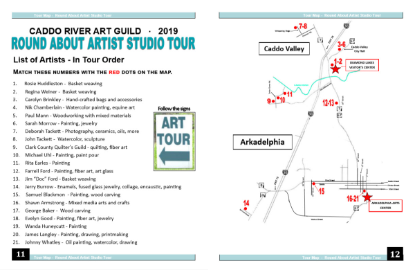 Download the 2019 Tour Map